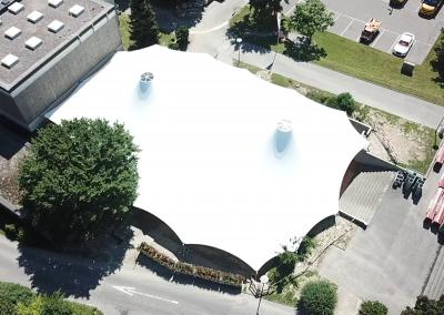Structure d'ombrage, Crissier, Suisse