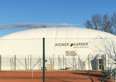 Dôme De Tennis Gonflable, Agon Coutanville, France