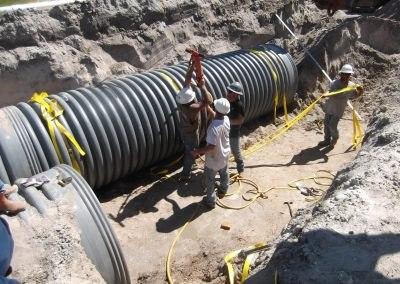 Plan D'améliorations Pour Le Détournement Des Eaux Pluviales Sur Mesquite Street
